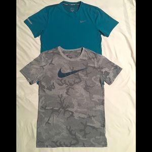 Nike DriFit shirts